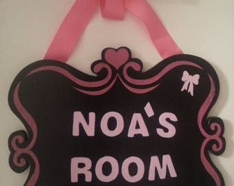 Room Name Sign 033