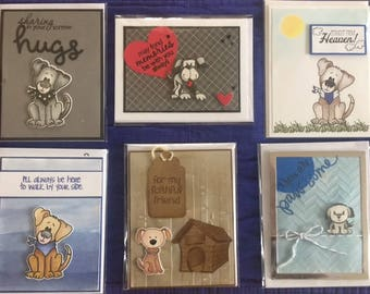 Handmade Cards for Dog and Pet Lovers