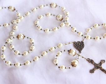 First Holy Communion Girls Rosary