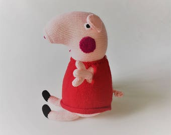 Peppa Pig Knitted Toy