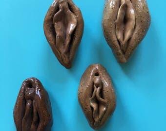 Ceramic Vagina Incense Holders