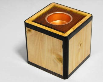 Tea light caddie, or box or holder