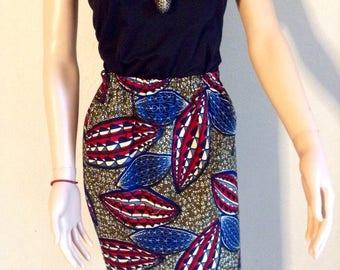 38/40/42 certified WAX cotton short skirt.