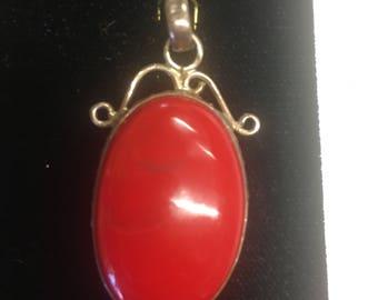 Lovely red Pendant