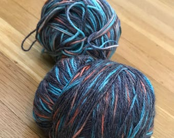 Alexandra's Crafts - Blue and Pink Wool Yarn