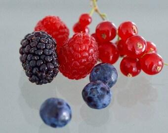 Enchanting Berries Digital Print