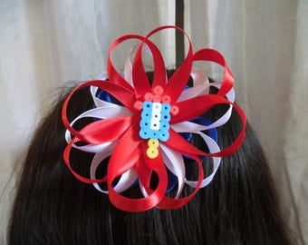 Firework Hair Bow