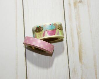 Cupcake Washi Tape Set