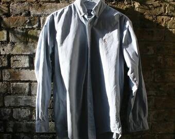 Ralph Lauren Denim Oxford Shirt Button Up Size 15