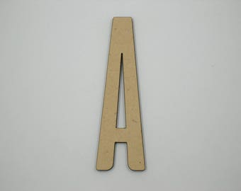 10cm MDF Wood Wooden Letters 3mm Thick ALI