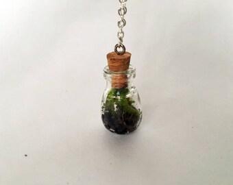 1in Bulb Terrarium Necklace
