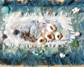 Textile Art 'Treasures from the Sea'