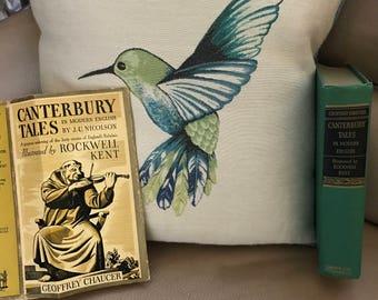 1934 Canterbury Tales by Geoffrey Chaucer