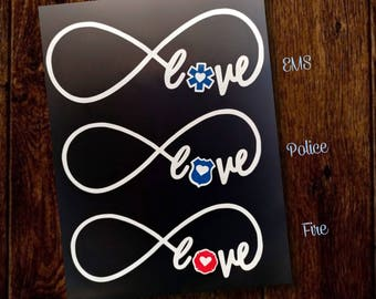 Infinity EMS, Police, Fire Love