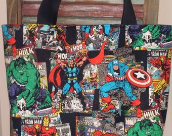 Marvel Comic Book Tote Bag