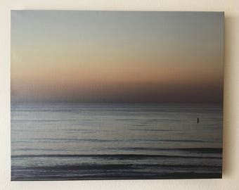 16x24 beach photo canvas