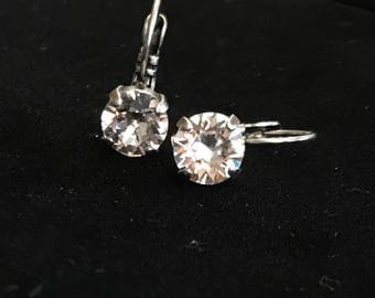 Swarvoski crystal earrings