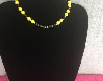 Neck RAS - mustard - black series Noémie N 2