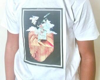 T-Shirt with original art design