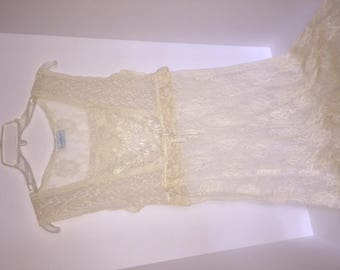 Hanky Panky Long Lacey Gown