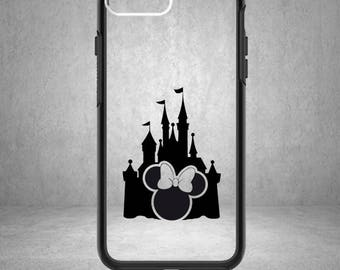 Minnie Mouse Decal, Minnie Decal, Disney Minnie Mouse Sticker, Disney Minnie Decal, Phone Cover, Disney Stickers, Disney Vinyl Decals,Castle