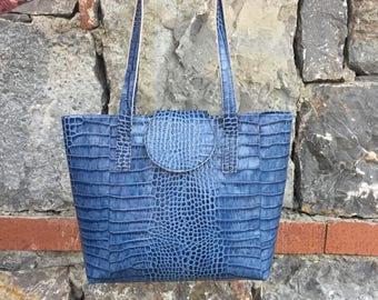 Real Leather Tote Bag, Tote Bag, Leather Bag, Leather Tote Bag