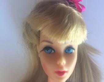 Vintage Barbie -  Twist 'n Turn Barbie from 1968 wearing Glowing Out (1971) #3404