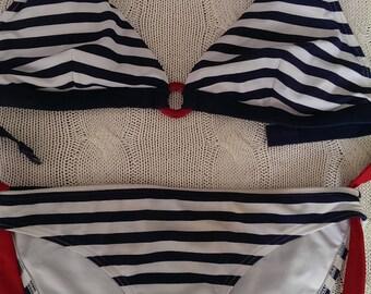 Nautical themed bikini