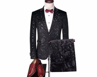Norman / Luxury Suit Tuxedo For Men / Business Casual Formal / Luxury Gifts For Men / Wedding Groom