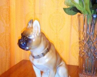 Petersburg. vintage Saint 60s/70s decorative bulldog .figurine