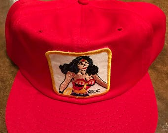 Vintage Wonder Woman Hat