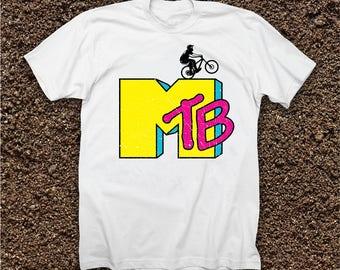 Mountain Biking MTB / MTV T-shirt