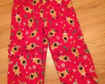 Red Reindeer Pj Pants