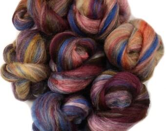 Song bird -- mini batts (2 oz.) polwarth and merino wool, bamboo, tussah silk.