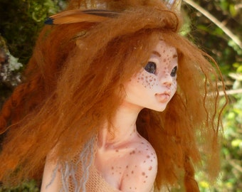 Endora - Wild Forest Myxie sculpture