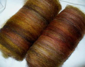 All Wool Batts for Hand Spinning Yarn