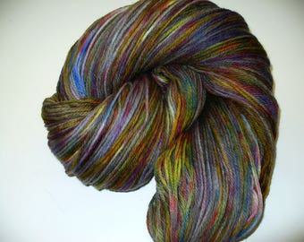 Hand dyed Worsted Weight Wool Yarn for Knitting or Crochet