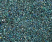 Destash Glass Frit Blend Blue Green Gold That Frit Girl Loetz COE 96 Compatible 0.1 oz Bag