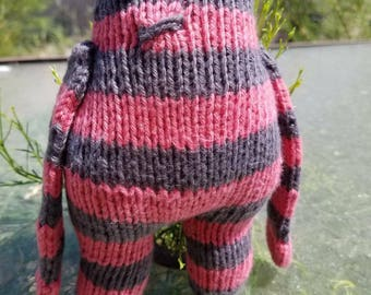 READY TO SHIP: Wendy the Petite Monster, Knit with Love