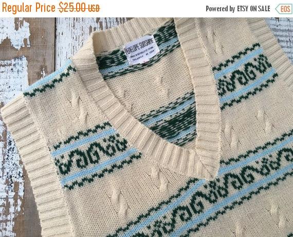 SALE- Vintage Sweater Vest-Penelope Sunshine
