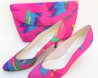 Vaporwave Slip On Shoes
