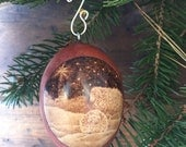 Sheep Ornament egg gourd