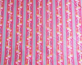 Jennifer Paganelli Fabric Happy Land JP67 Pink - OOP