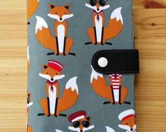 Fox  Mini Happy Planner Cover set includes mini Happy planner undated
