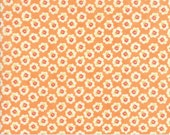 Coney Island - Cotton Blossoms in Orange Sherbet: sku 20281-15 cotton quilting fabric by Fig Tree and Co. for Moda Fabrics - 1 yard