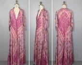 shop sale / ADINI / 1970s dress / festival dress / bohemian / india gauze / hippie / boho dress