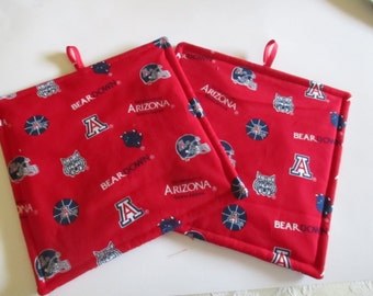 Pot holder, U of A, hot pad, baking, oven, trivet, kitchen and dining, home and living, housewares, table, dining room, kitchen, patio