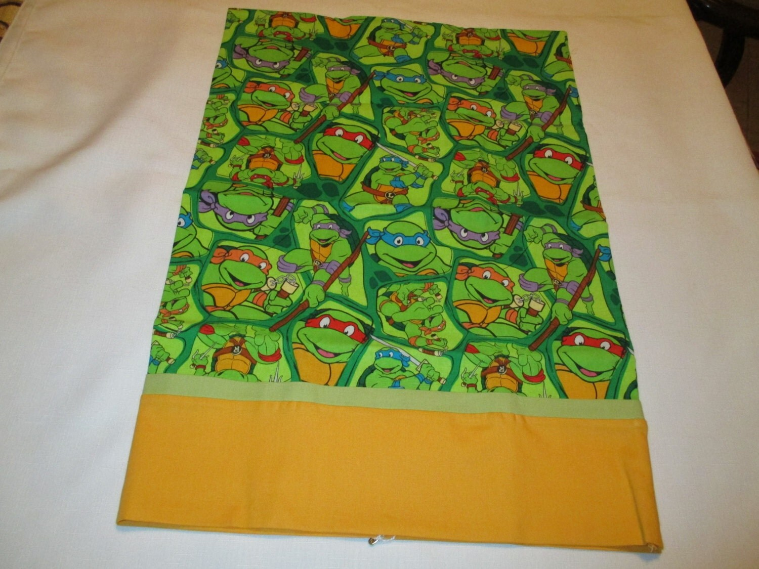 Pillowcase Ninja Turtles Travel Size Home And Living Bedding Handcrafted Sheets And