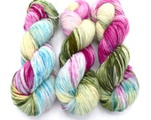 Blanche Variegated Hand Dyed Yarn - Dyed to Order