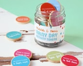 BLACK FRIDAY SALE Rainy Day Personalised Children's Activity Tokens Jar. Rainy Day Gift. Siblings Gift. Creative Activity For Children. Pers